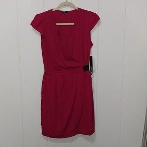 Xoxo red work dress